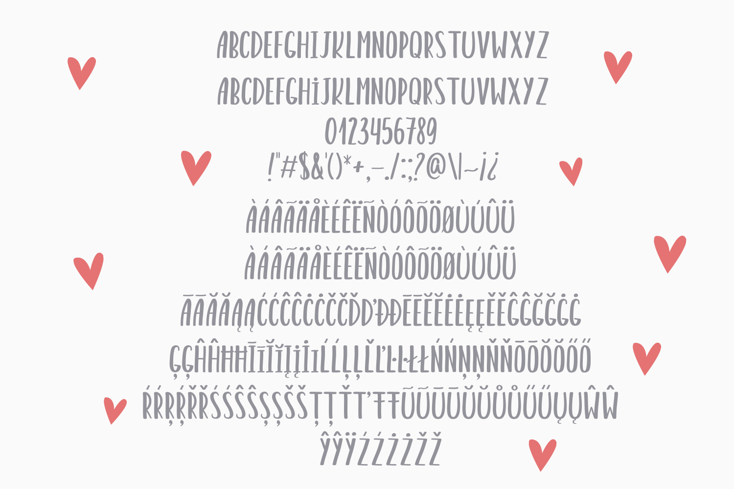 Sweet Bear Font Duo example image 5