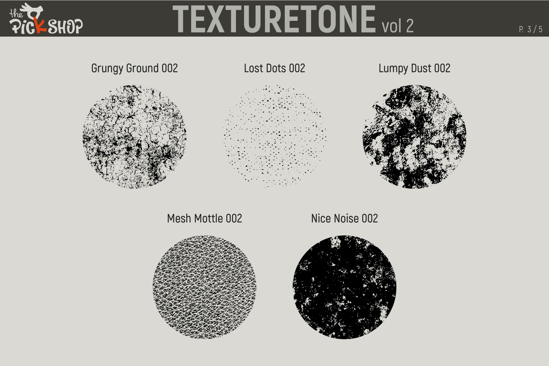 Texturetone Promo Pack. Vol 01 and Vol 02 example image 9