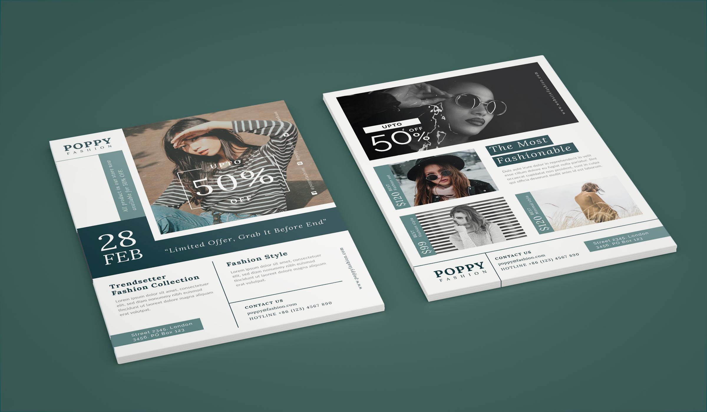 Poppy - Fashion flyer example image 2