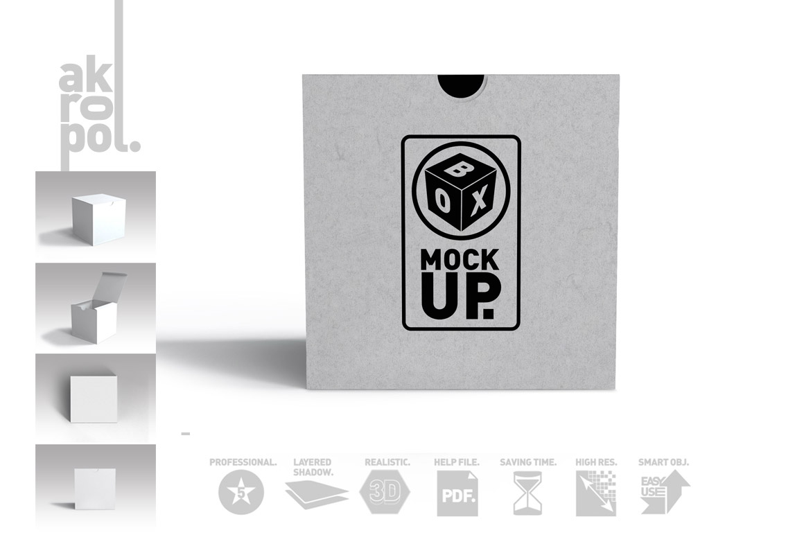 Package Box Mockups example image 5