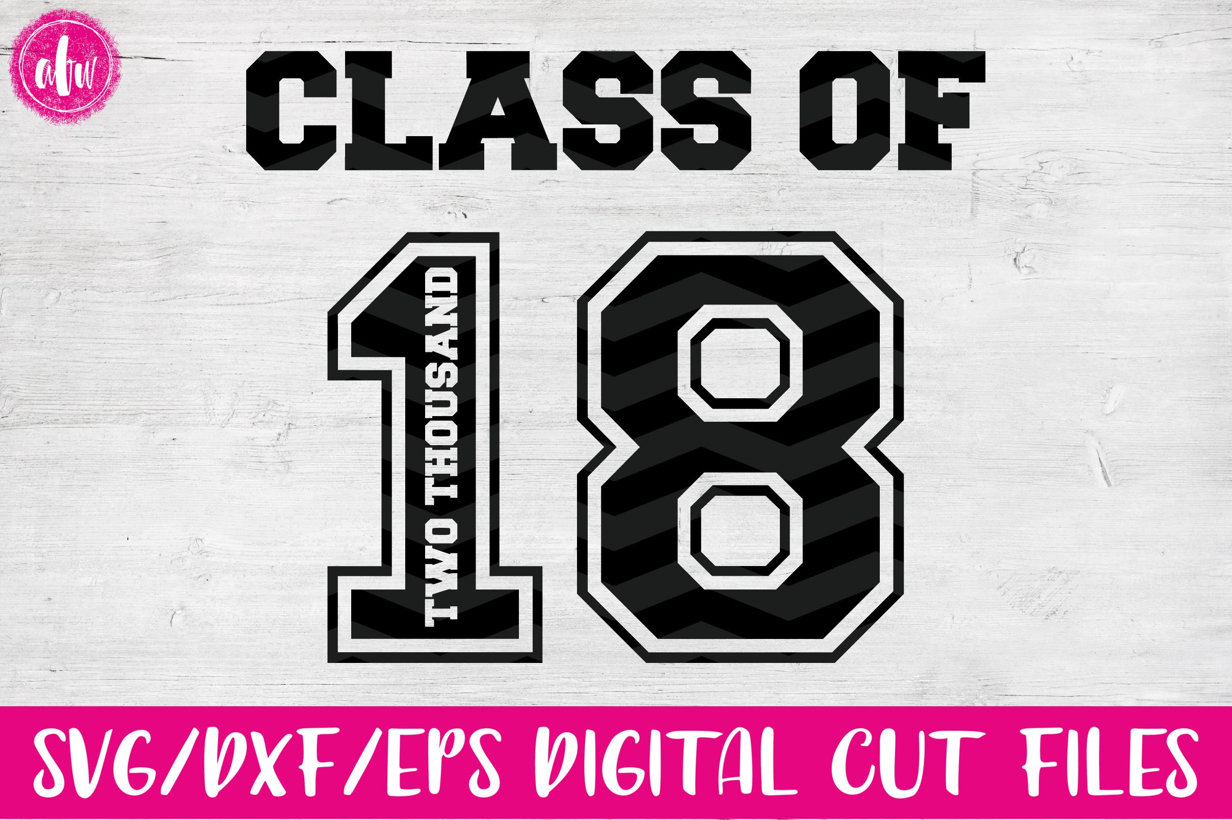 Graduation 2018 Bundle - SVG, DXF, EPS Cut Files example image 4