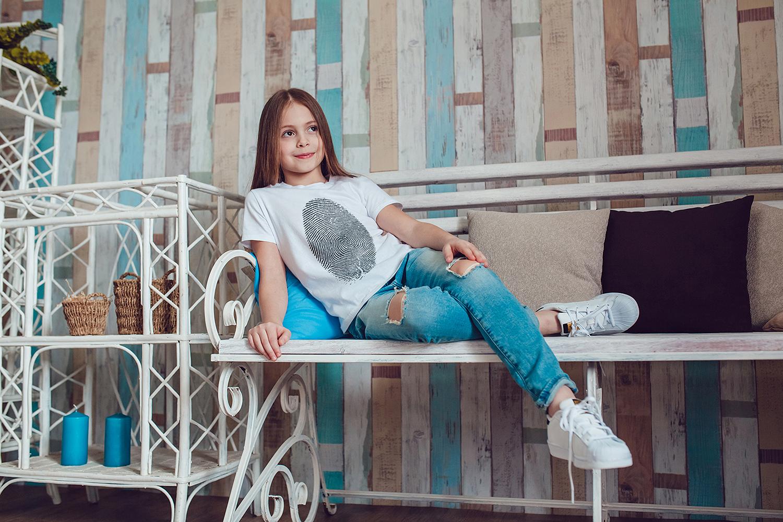 Kids T-Shirt Mock-Up Vol.1 2017 example image 5