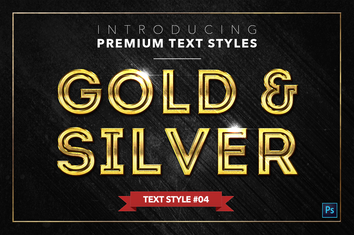 Gold & Silver #2 - 20 Text Styles example image 20