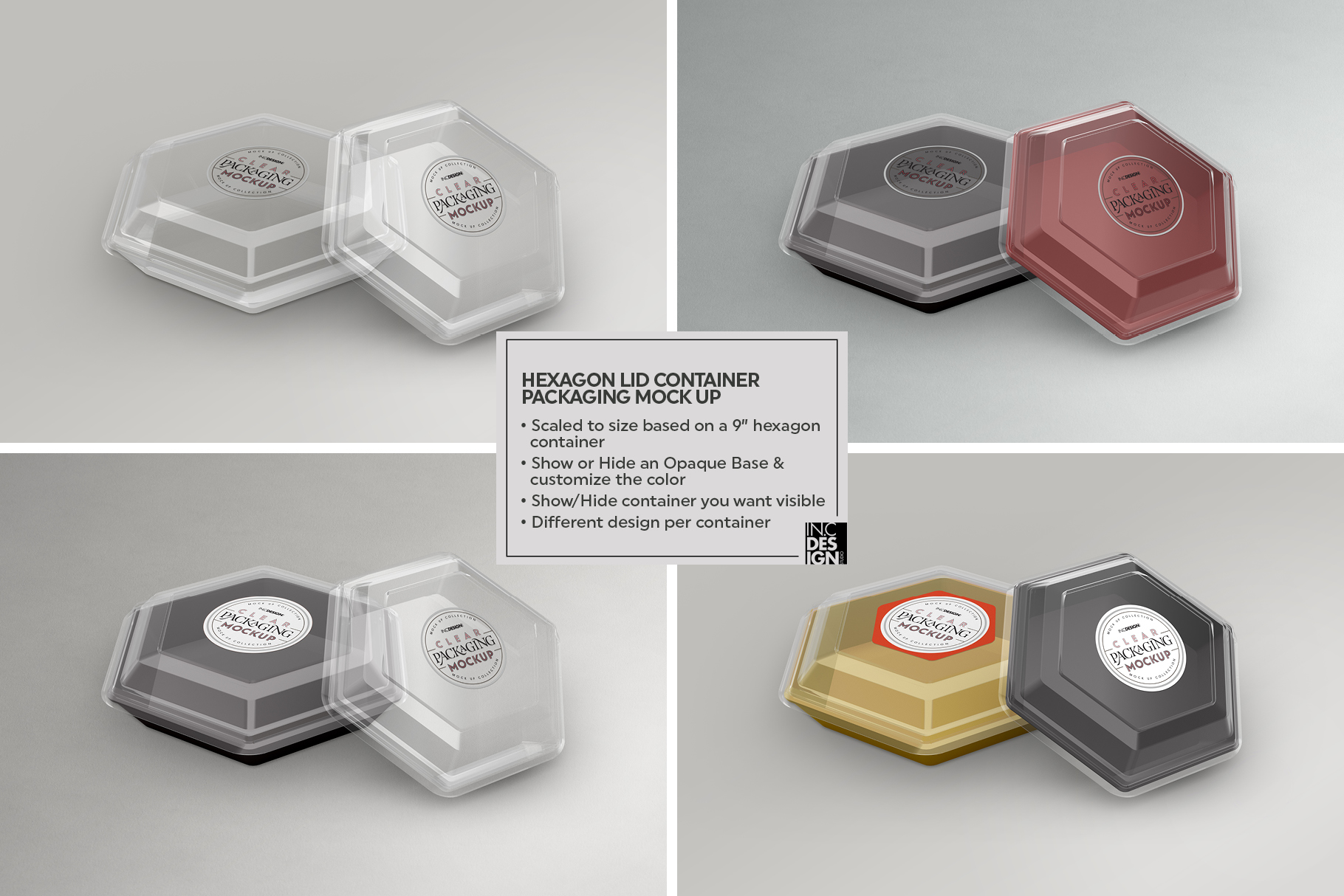 VOL.2 Clear Packaging Mockup Collection example image 13