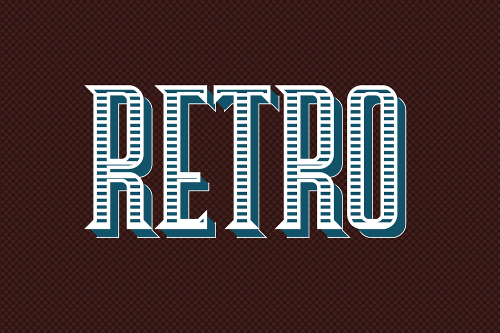 10 Retro Vintage Style for Adobe Illustrator example image 2