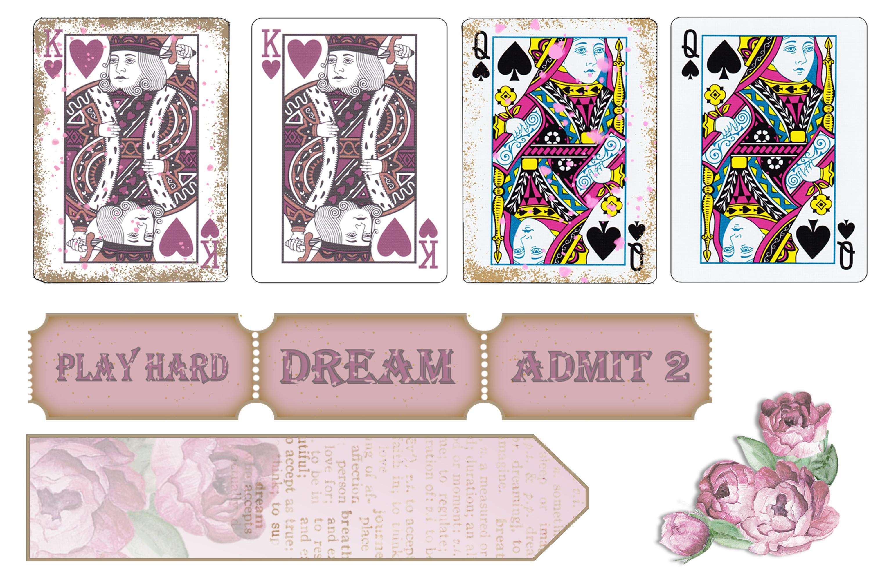 Stuffed Pockets Ephemera Kit for Journaling or Card making example image 4