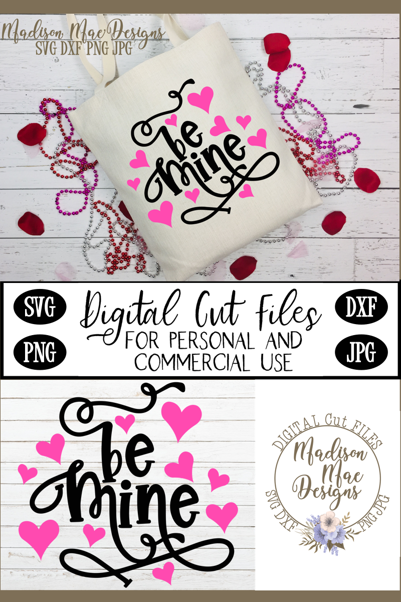 Be Mine SVG, Valentine's Day SVG example image 3