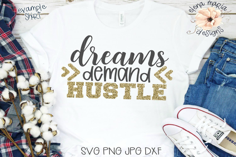 Hustle SVG Bundle, 10 SVG Designs example image 2