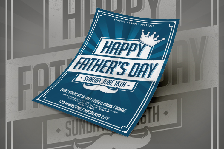 Fathers Day Flyer example image 2