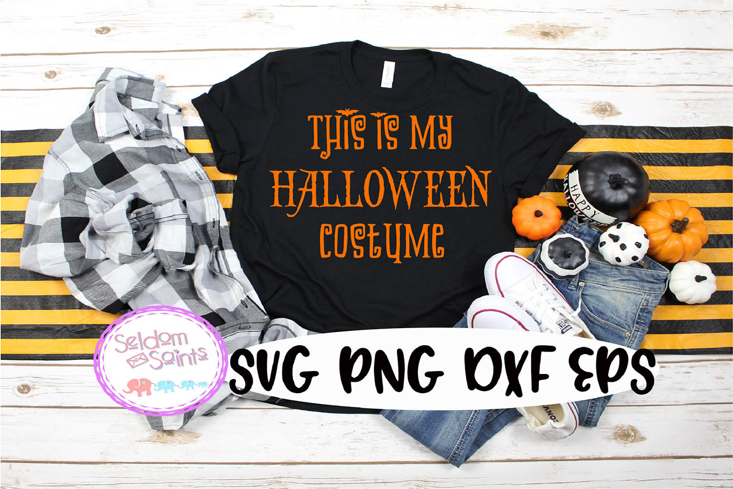 This is my Halloween Costume SVG PNG DXF EPS example image 1