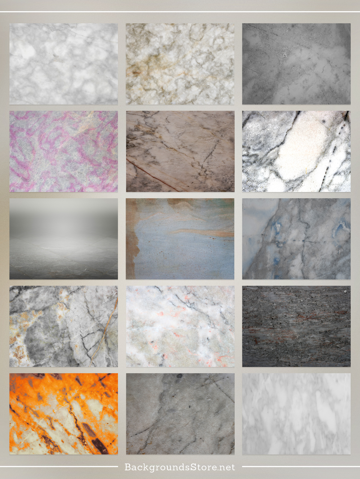 Marble Textures Set example image 2