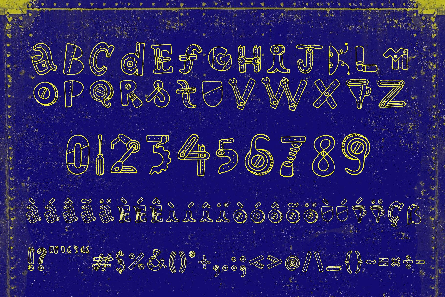 Robotikka Typeface example image 3