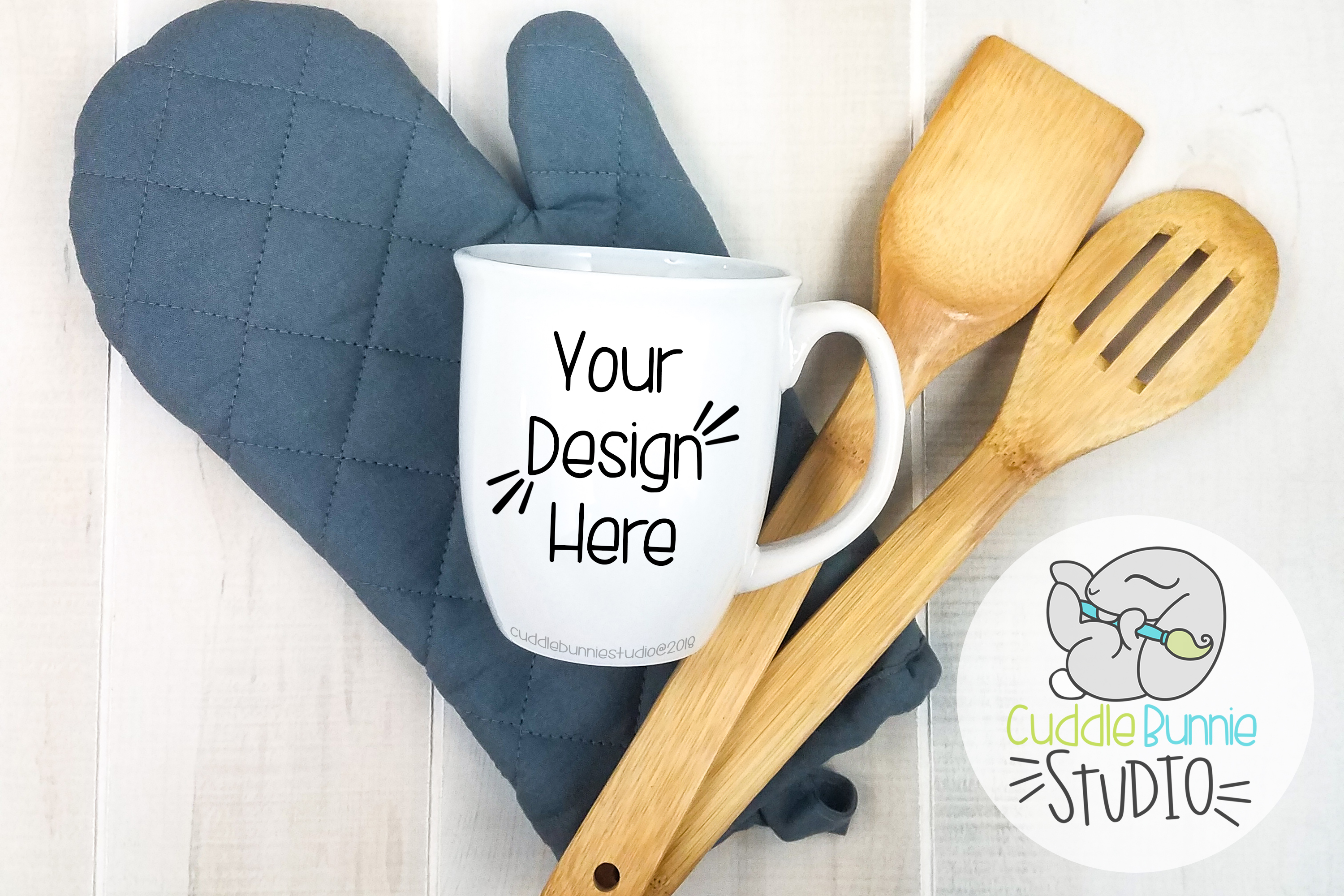 Mug Mockup | A Flat Lay Kitchen Theme example image 1