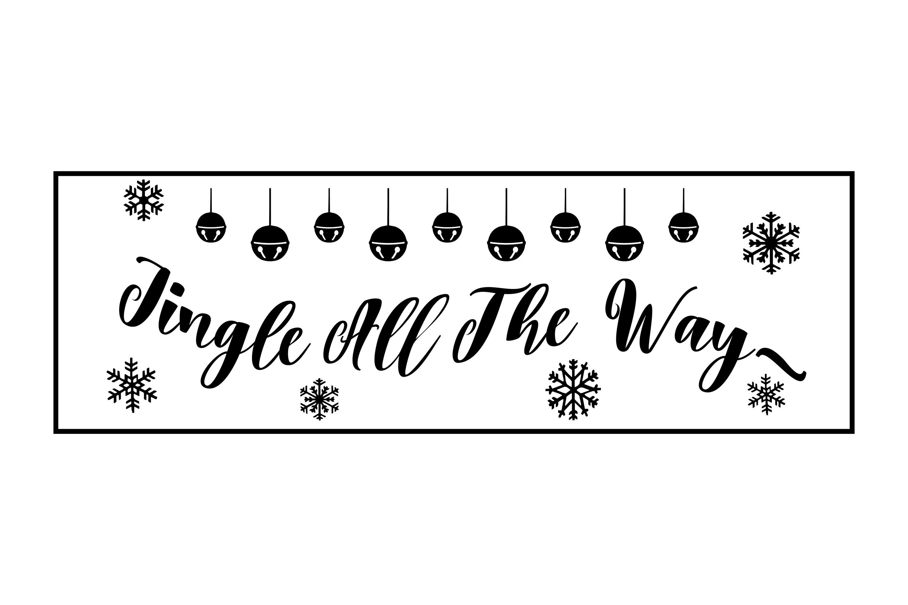 Christmas Porch Sign Bundle example image 18