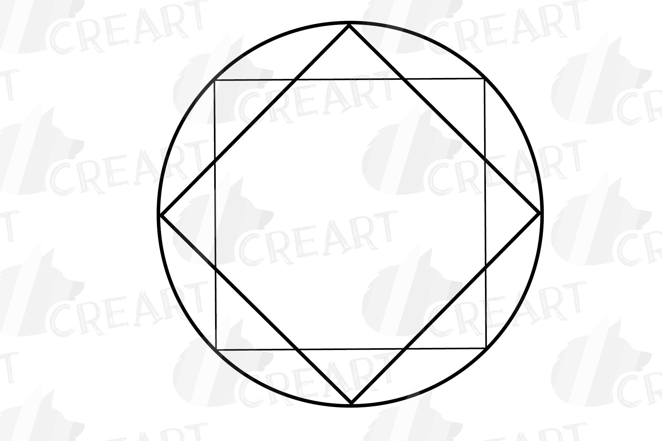 Geometric lineal black frames decor clip art. Wedding border example image 25