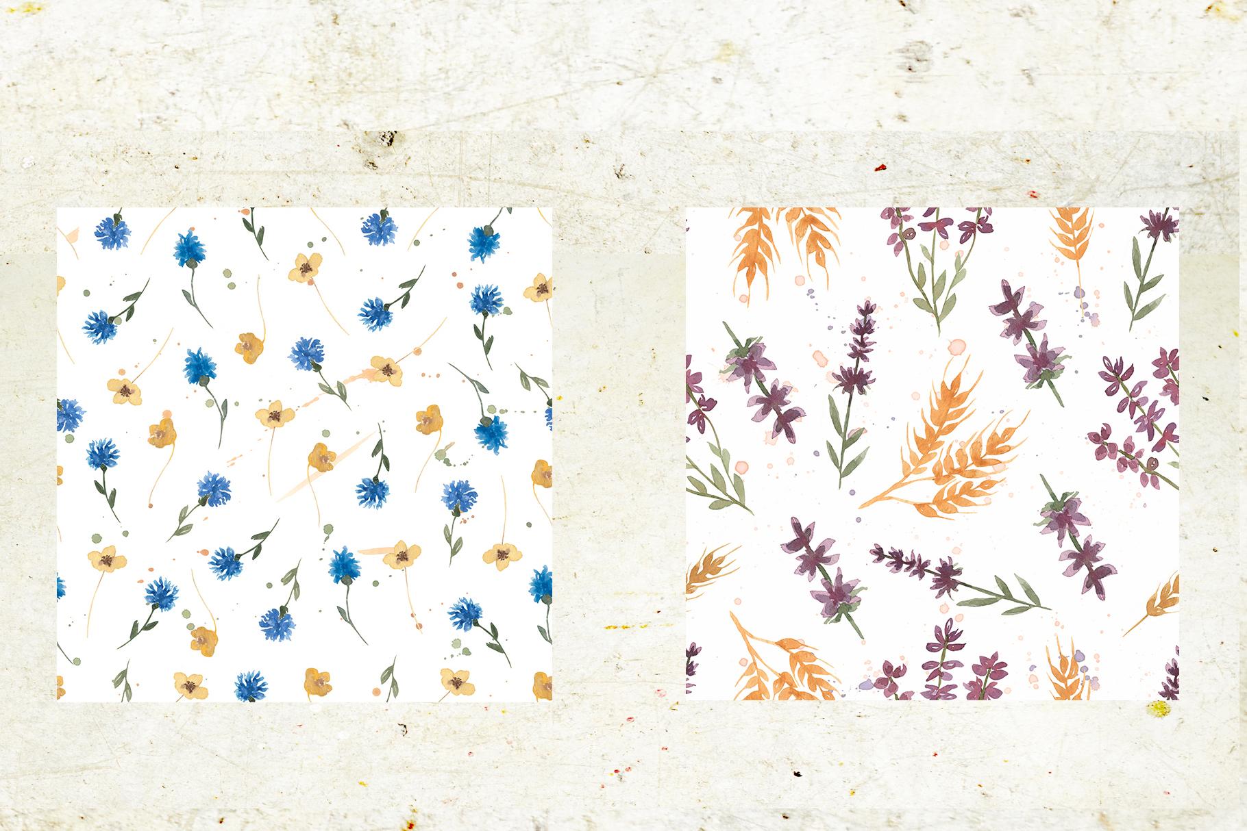 Wildflowers field example image 10