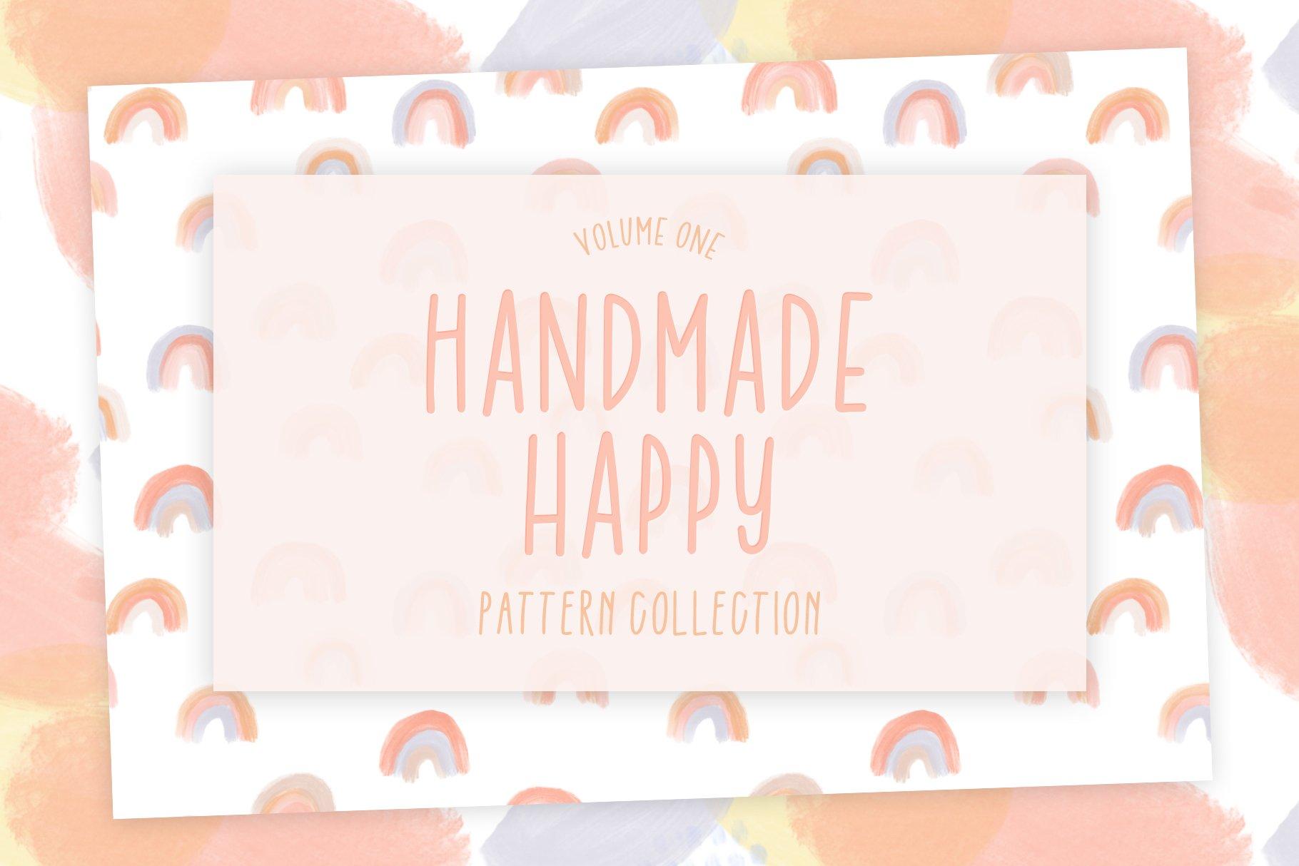 Handmade Happy! Vol. 1 | Pattern Set example image 1
