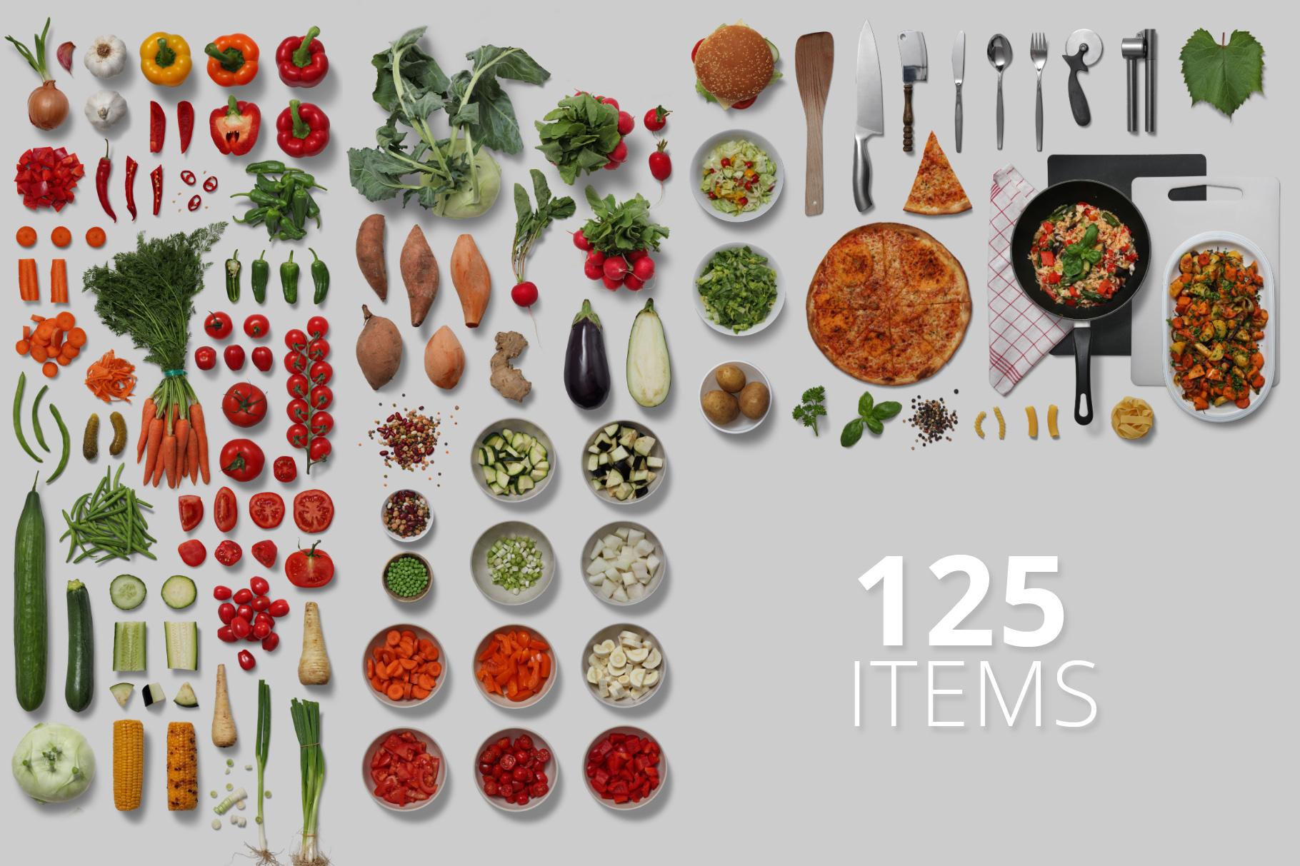 Veggies - Isolated Food Items example image 2