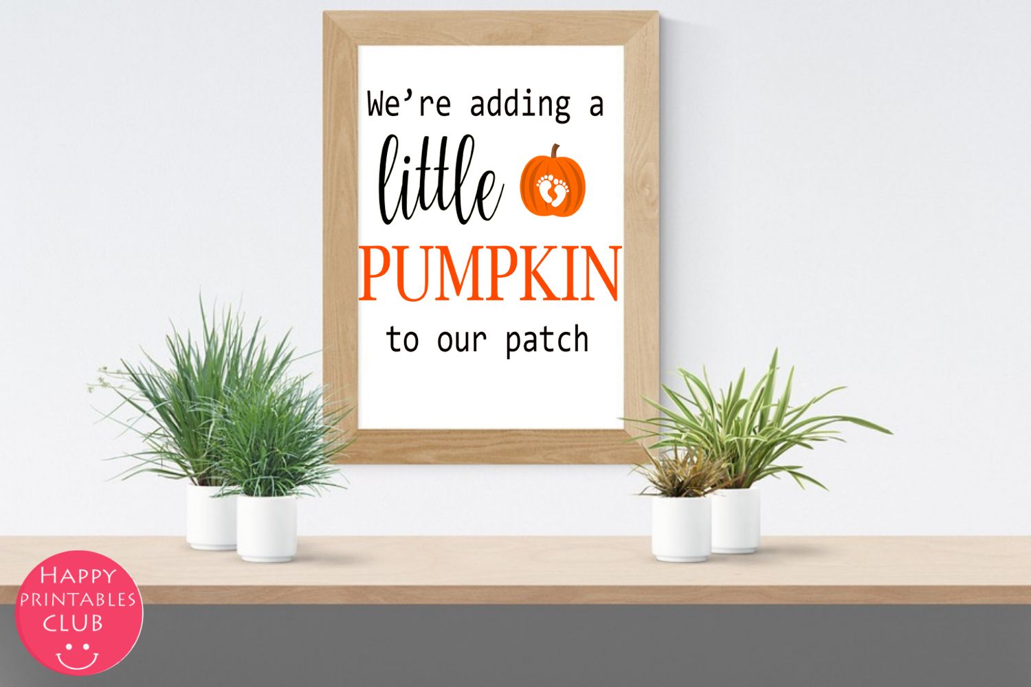 Halloween Pregnancy Announcement Text Overlays Clipart example image 2