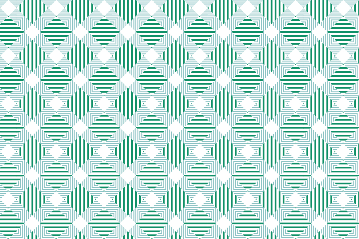 Green Textile Seamless Patterns. example image 2