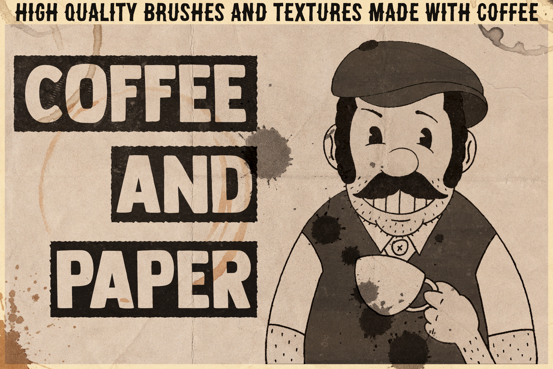 Coffee&Paper - Handcrafted Pack example image 1