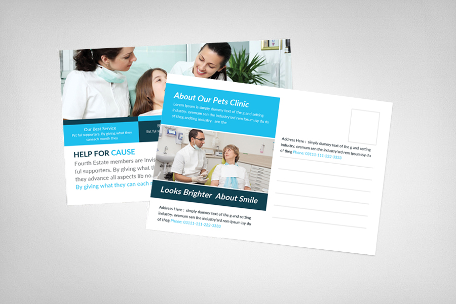 Medical Billing & Coding Postcard Template example image 2
