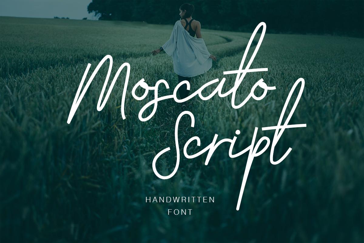 Moscato Script example image 1