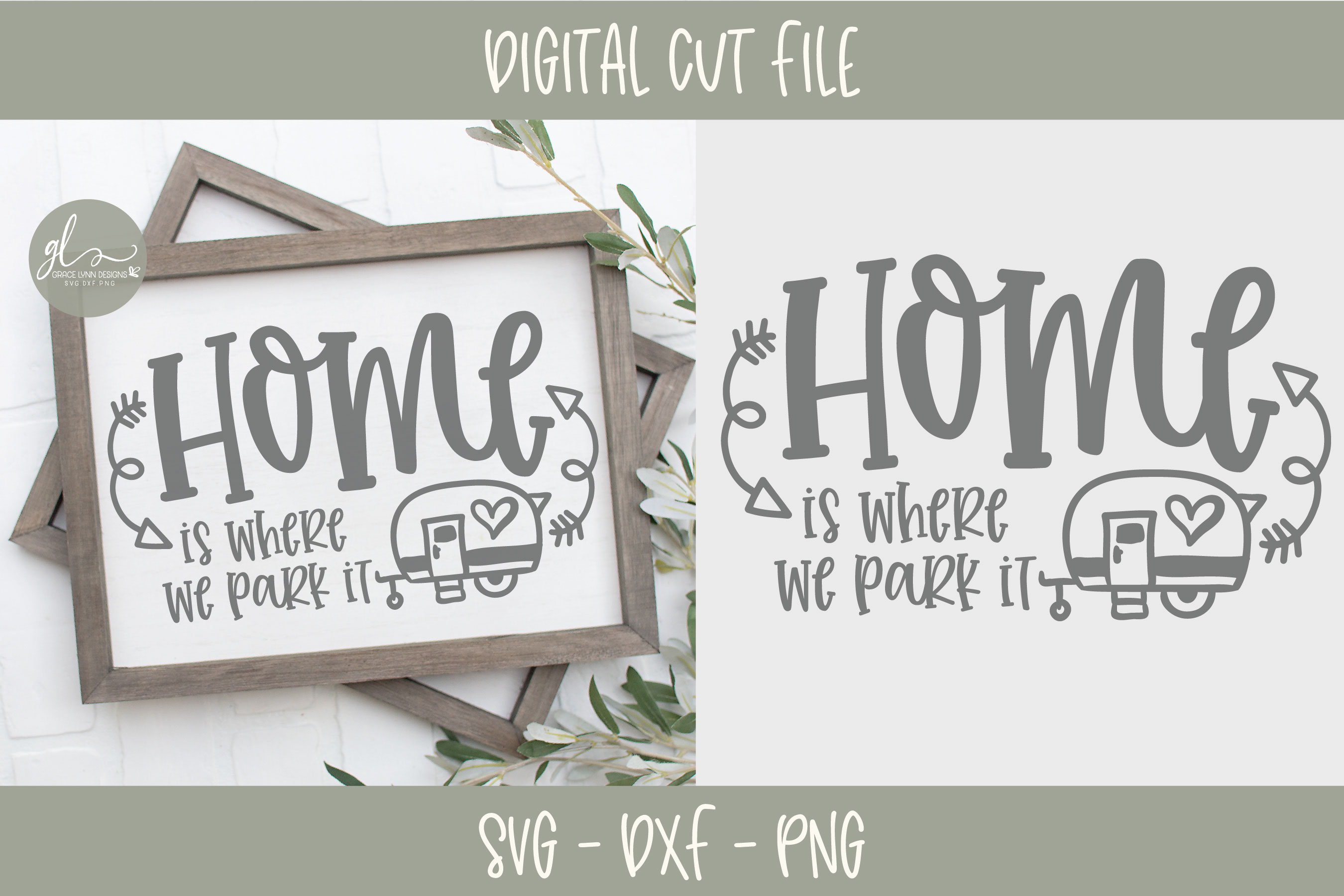 Camping Bundle - 10 Camping SVG Cut Files example image 3