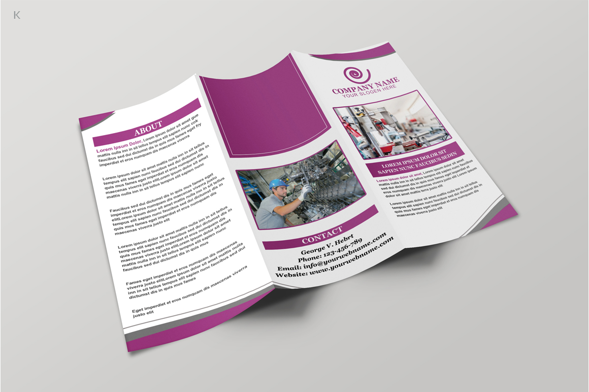Industerial Trifold example image 5
