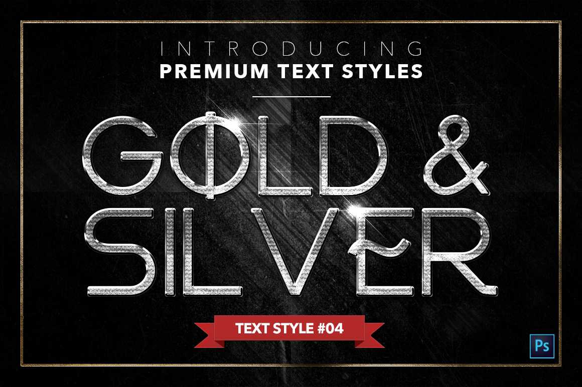 Gold & Silver #4 - 20 Text Styles example image 20