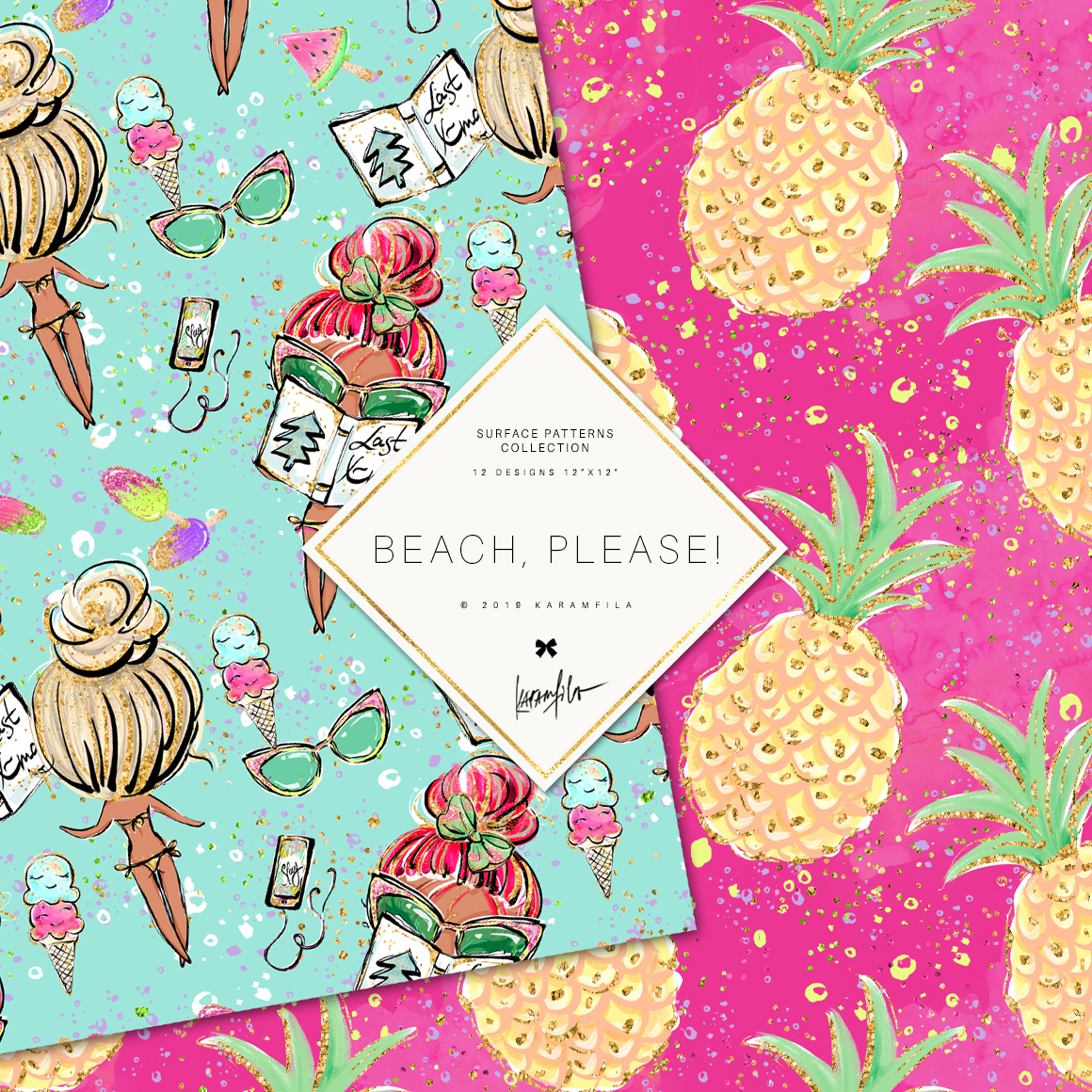 Beach Patterns example image 2