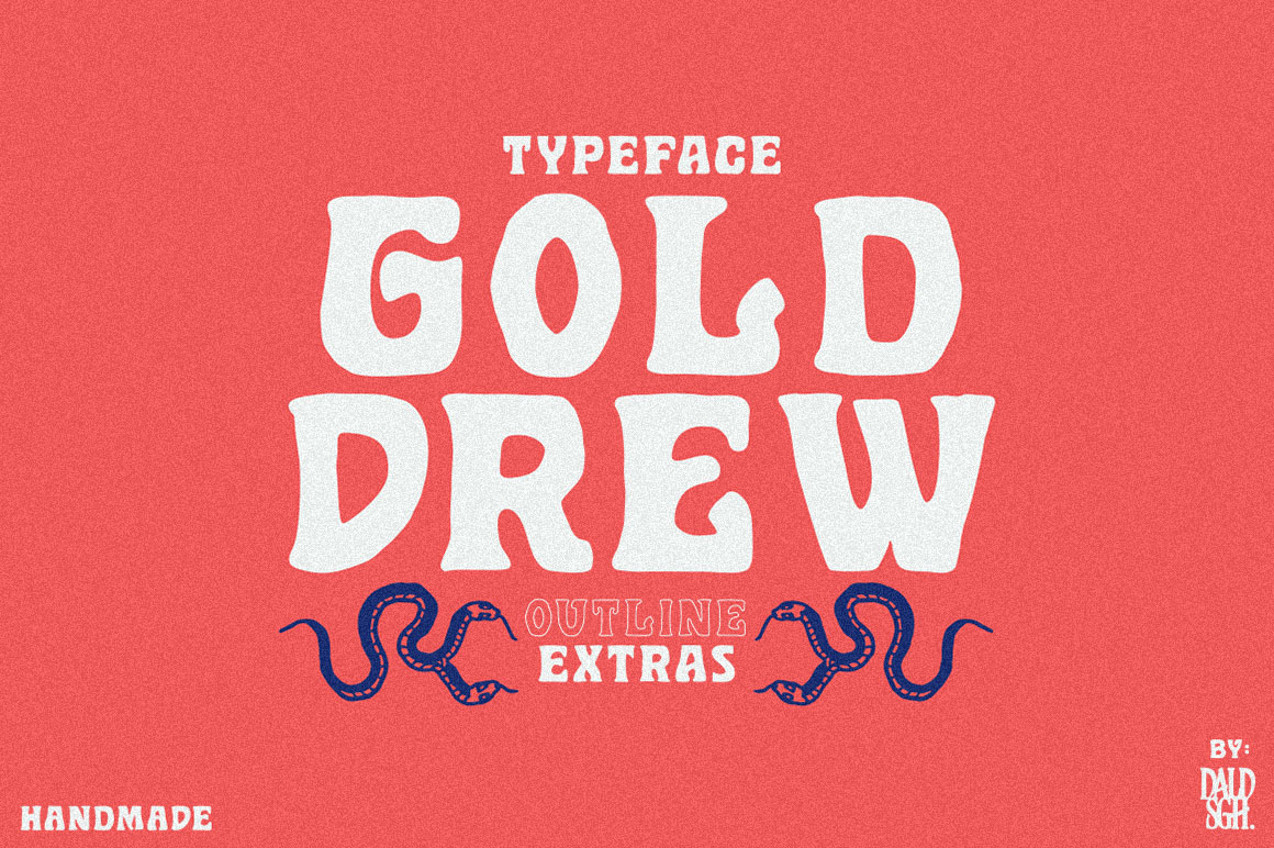 Golddrew Fonts example image 1