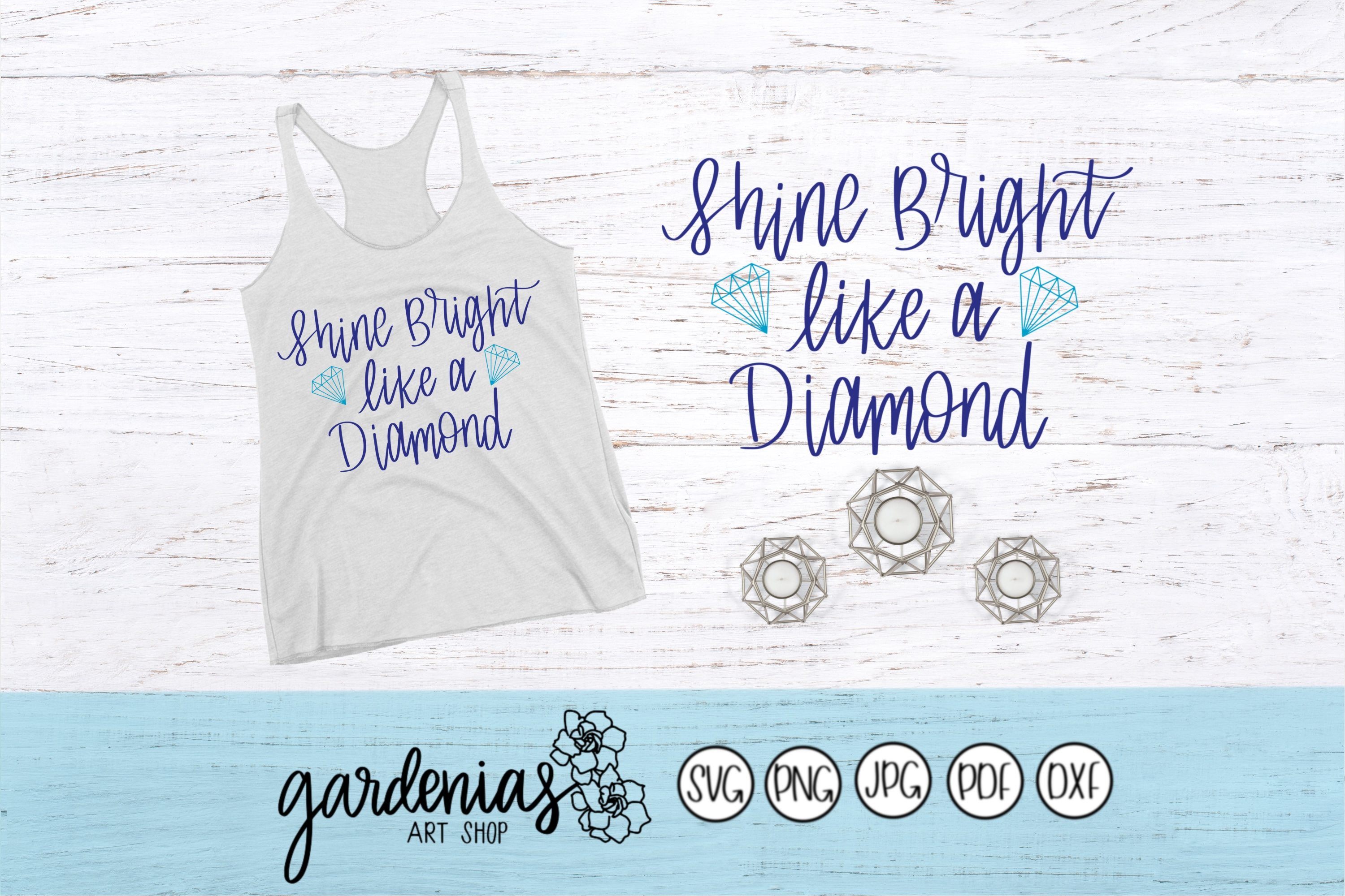 Shine Bright Like a Diamond example image 1