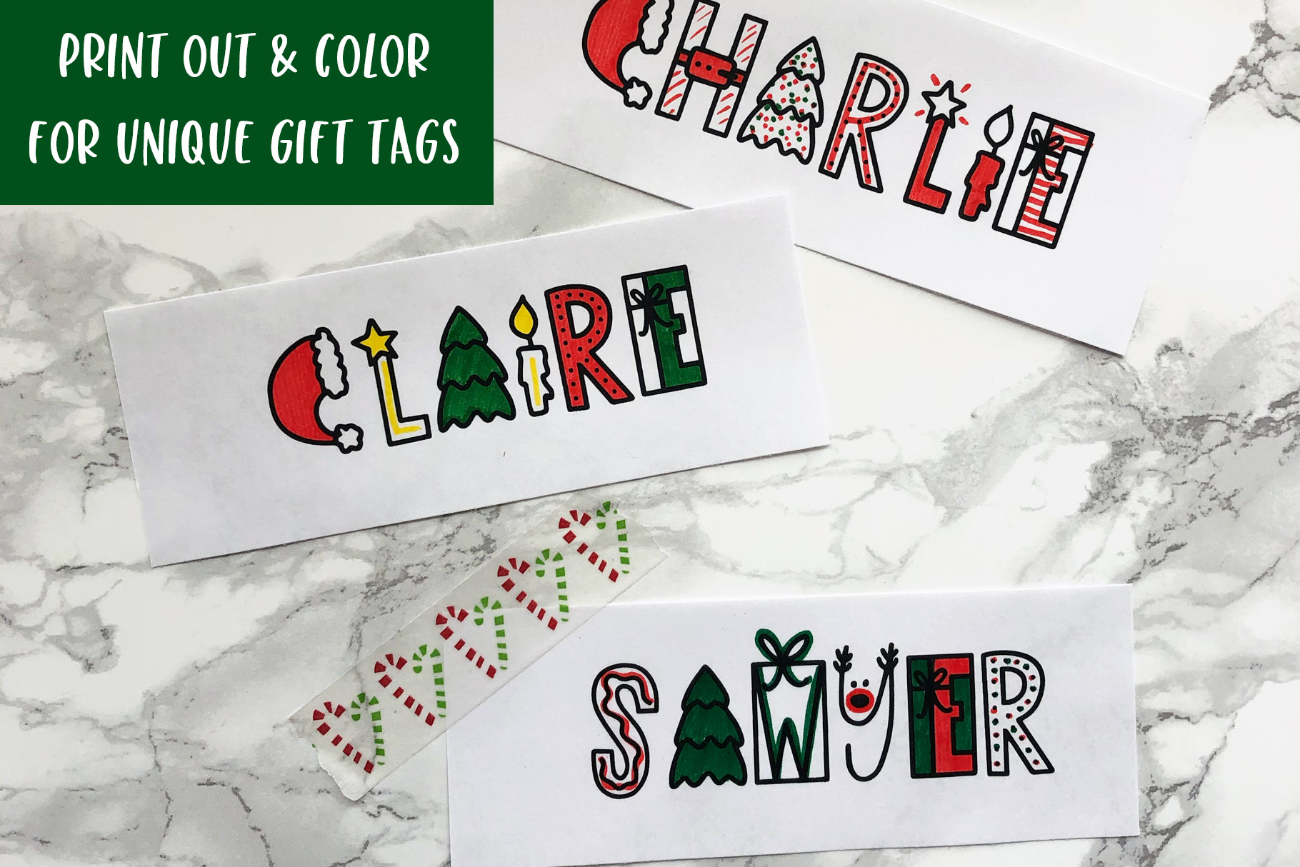 Dasher, A Christmas Holiday Symbols Font example image 5