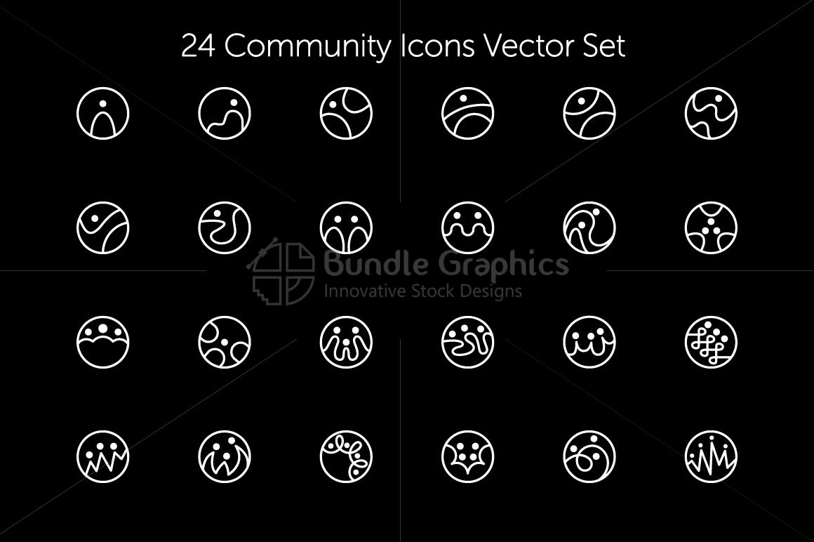 Community Icons Set example image 2