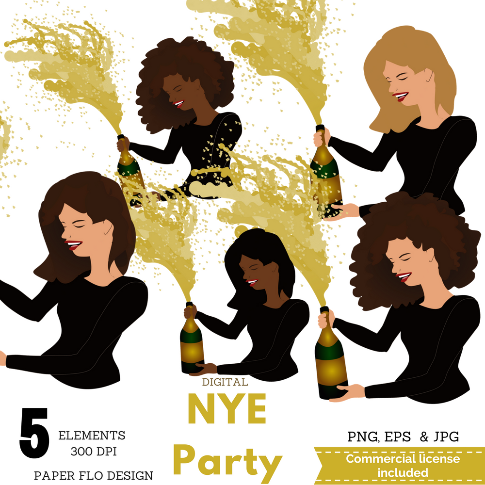 New Year's Eve Party Time example image 6