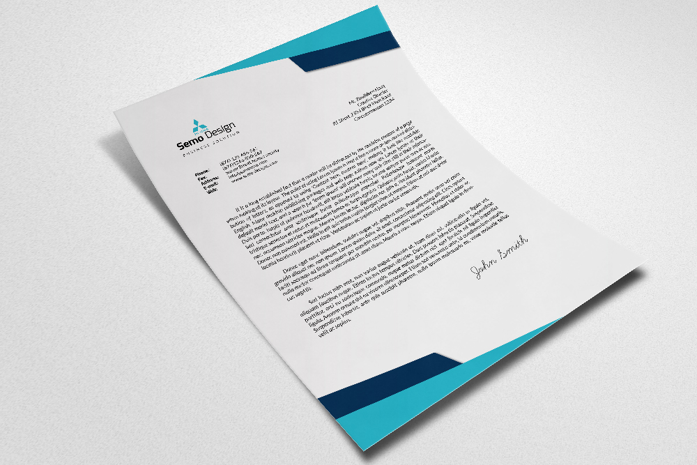 Professional Business Letterheads example image 2