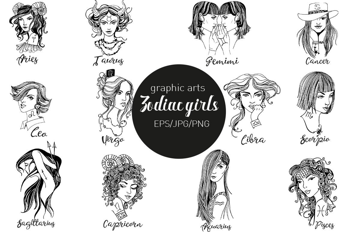 Zodiac girls example image 2