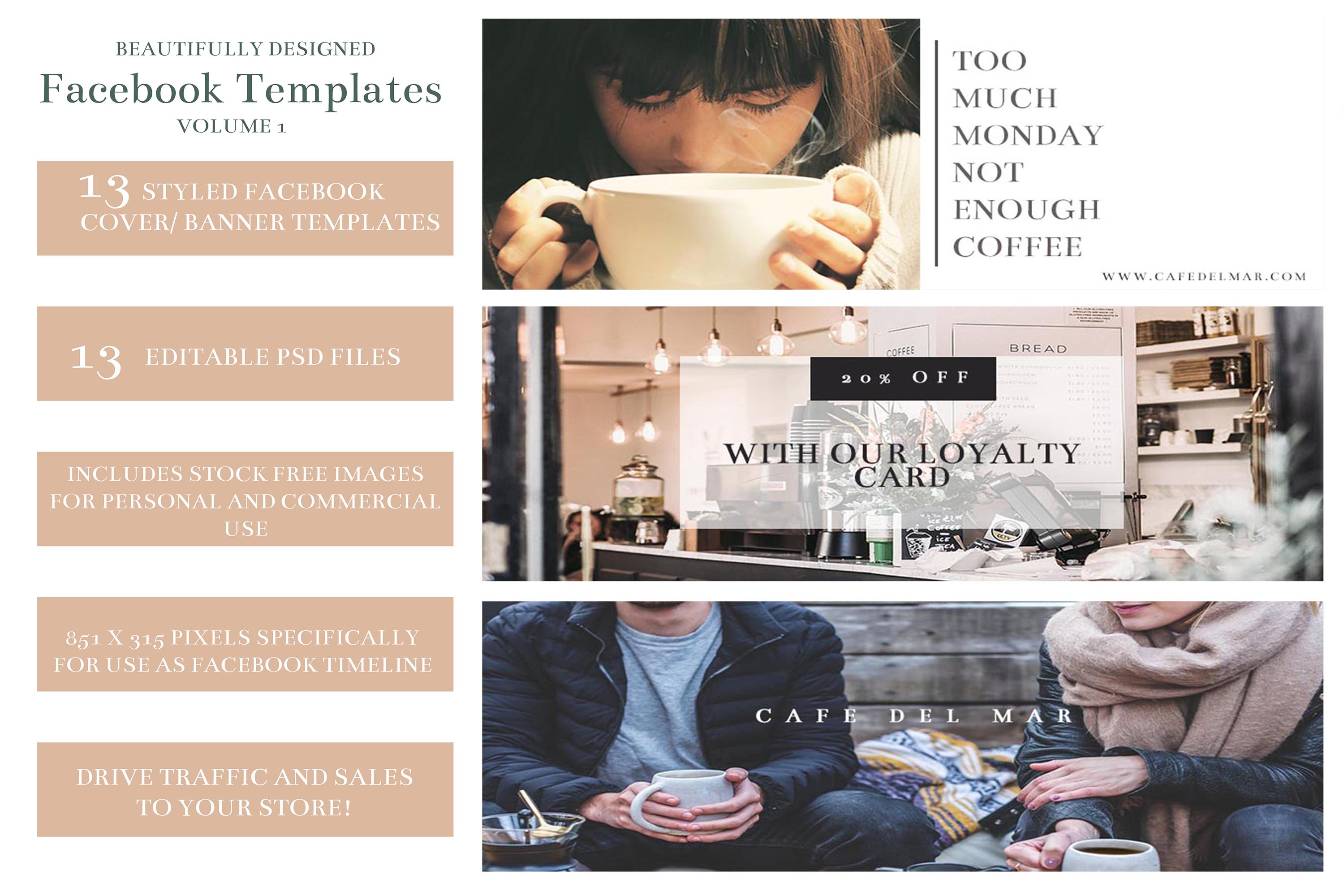 Facebook Ads/ Facebook Cover Templates/ Facebook Banners example image 2
