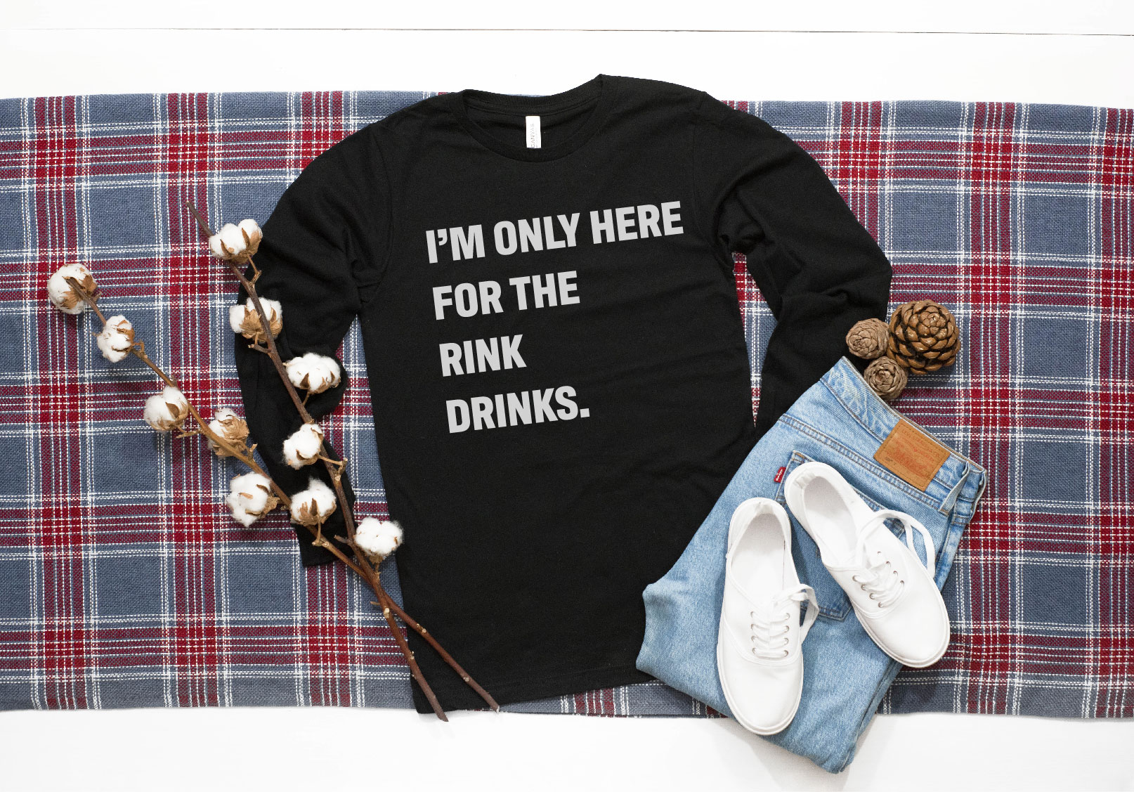 Just Here For The Rink Drinks/Food Bundle example image 3