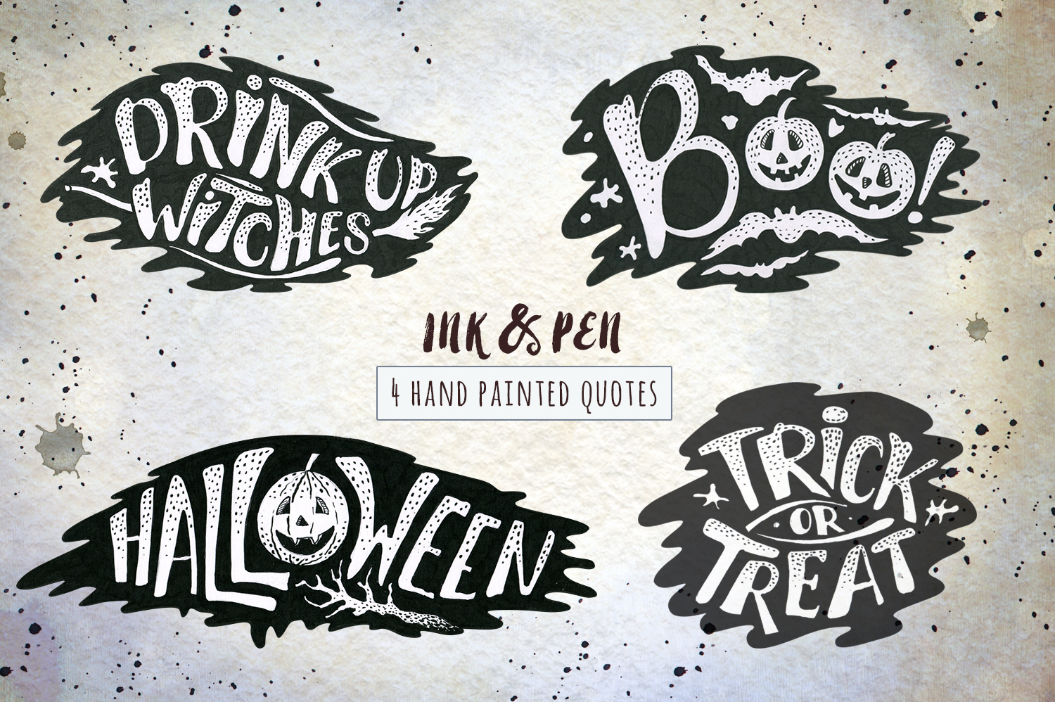 Halloween Ink & Pen Collection example image 5