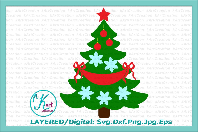 Family tree svg, Christmas tree svg, Family Christmas tree example image 4