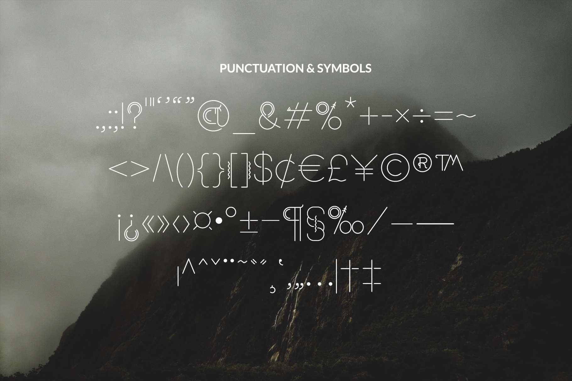 Sacred North Display Font example image 13
