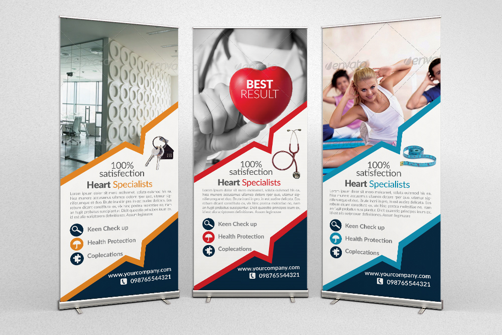 Multi Use Business Roll Up Banners example image 1