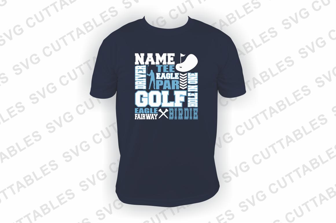 Golf svg, Golf Subway Art svg cut file example image 2