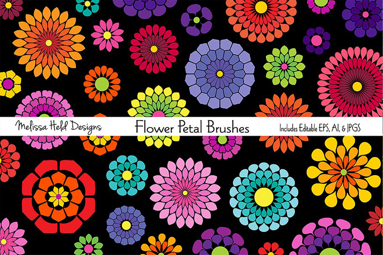 Flower Petal Brushes example image 1