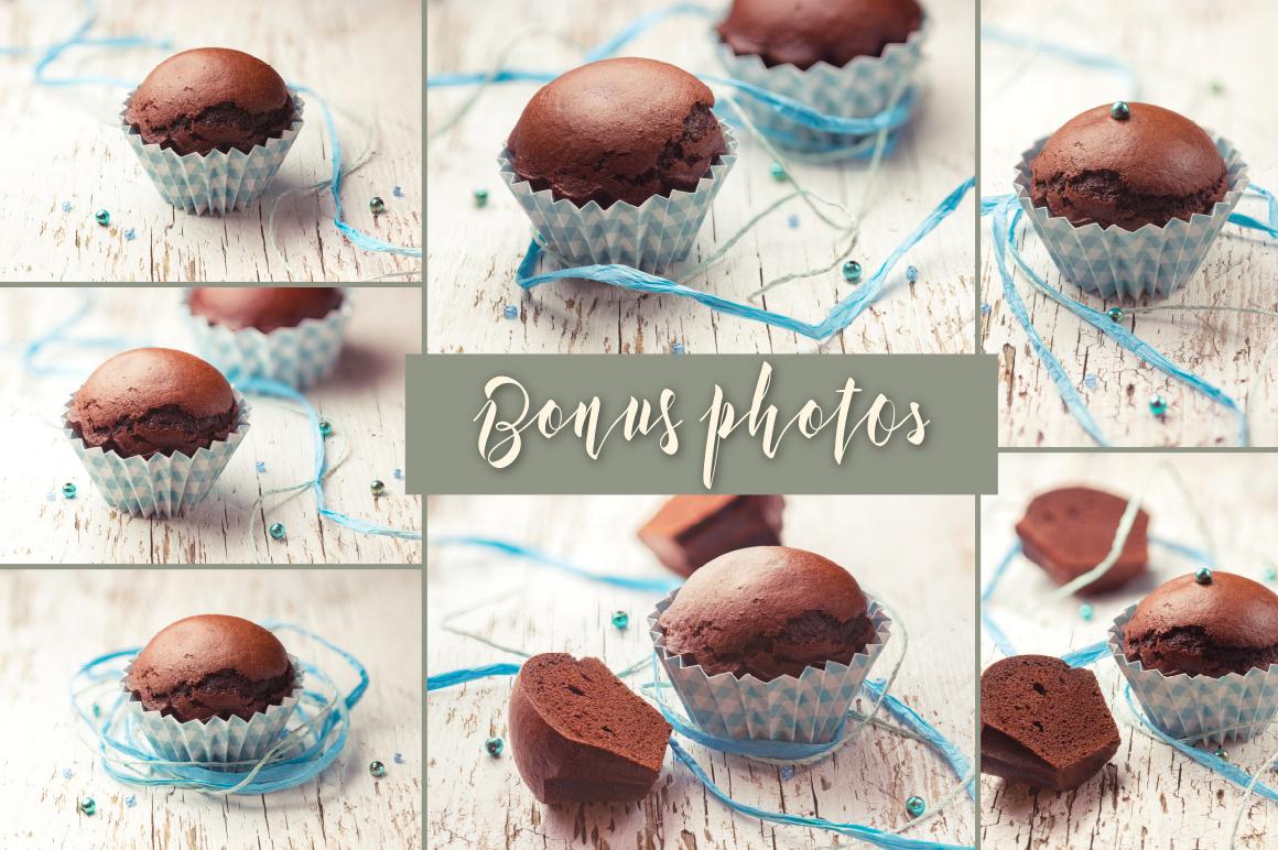 Kexman font + Cupcake photos example image 6