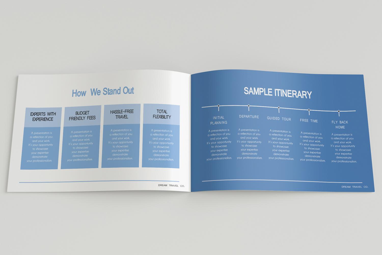 Travel Agency Printable Catalogue - A5-26 PSD Templates example image 11