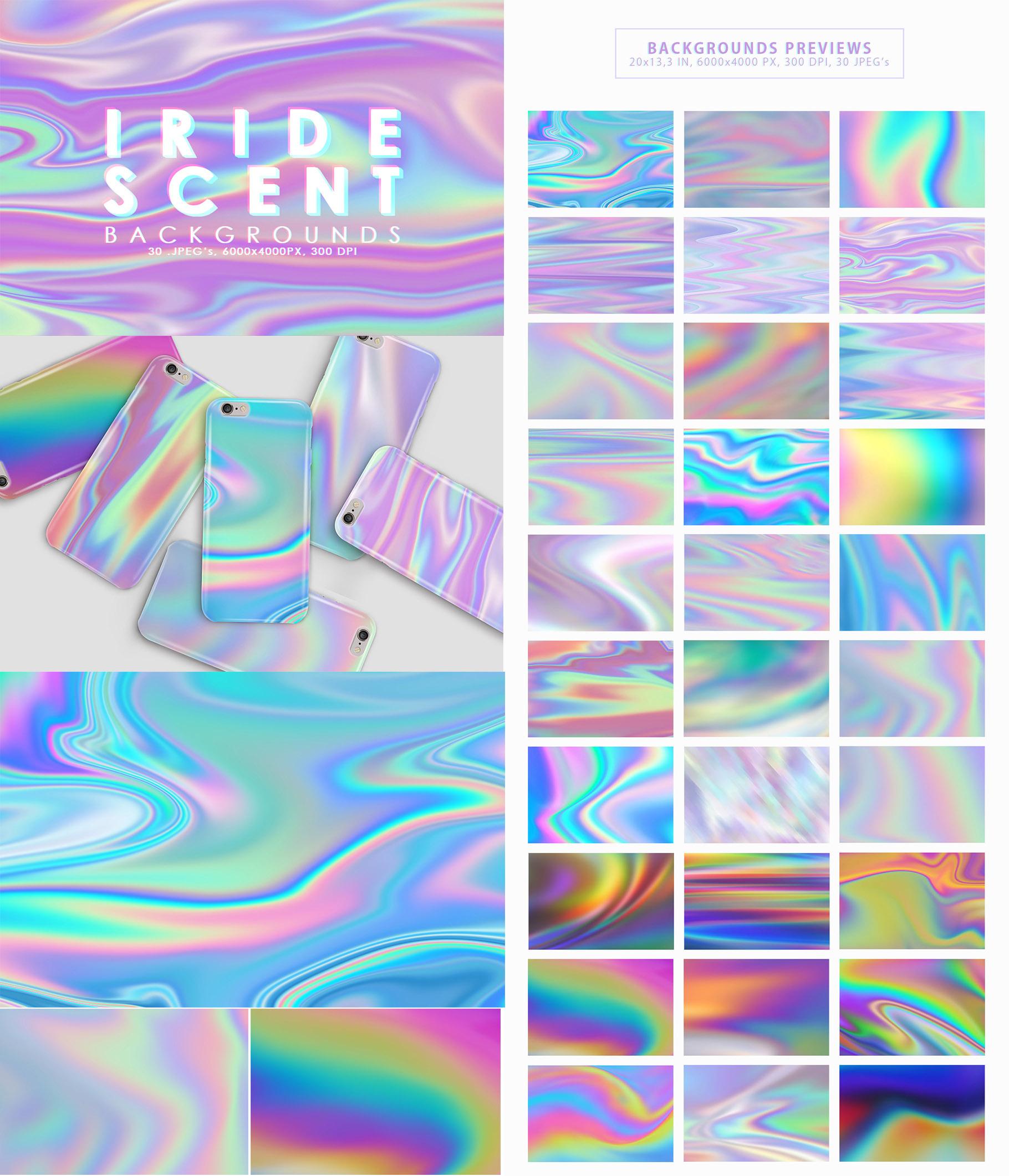 Aesthetic Backgrounds BUNDLE example image 8