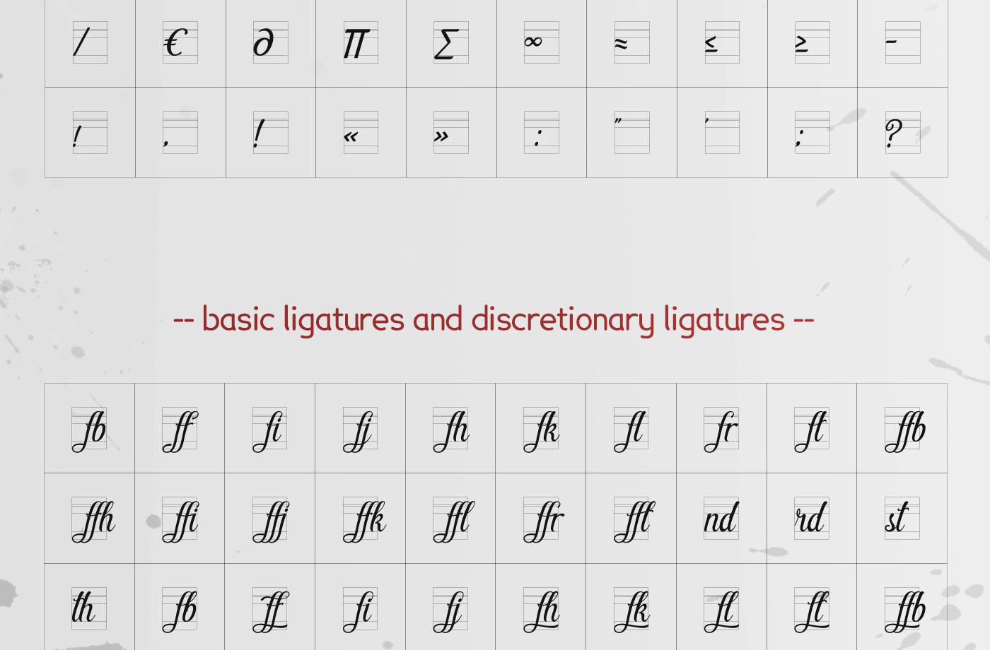 Pamega Script Font example image 11